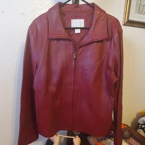 Worthington genuine lambskin coat